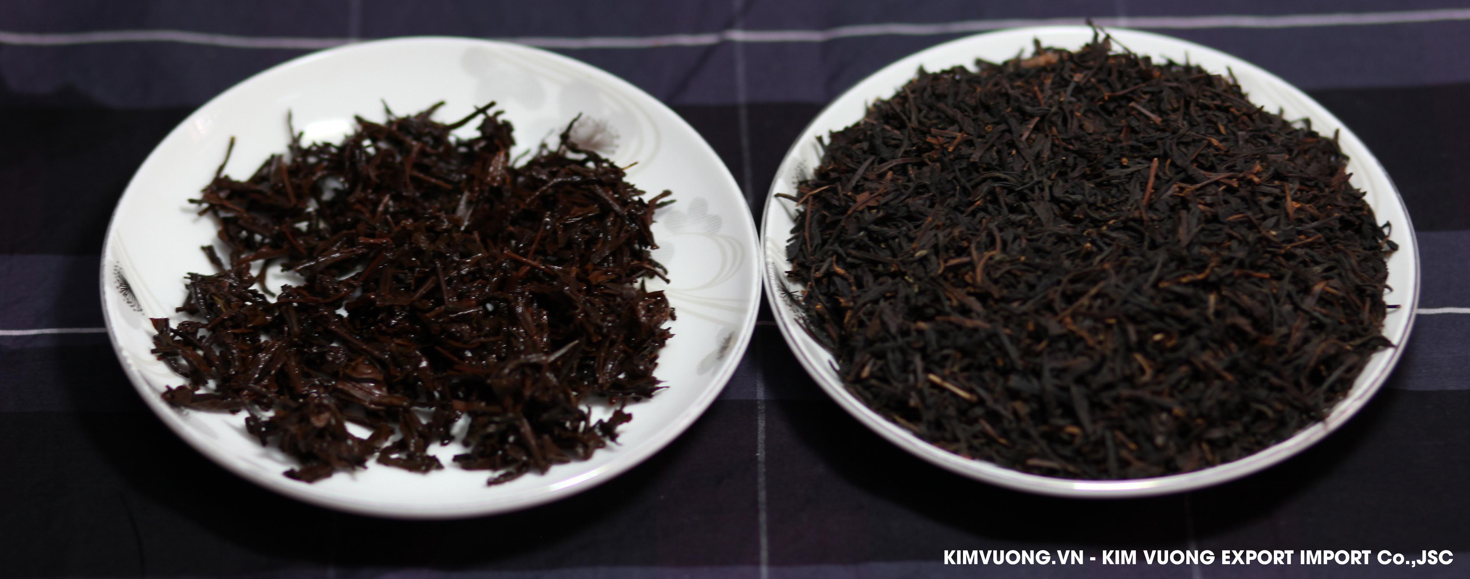 Black tea OP exports - Kim Vuong JSC