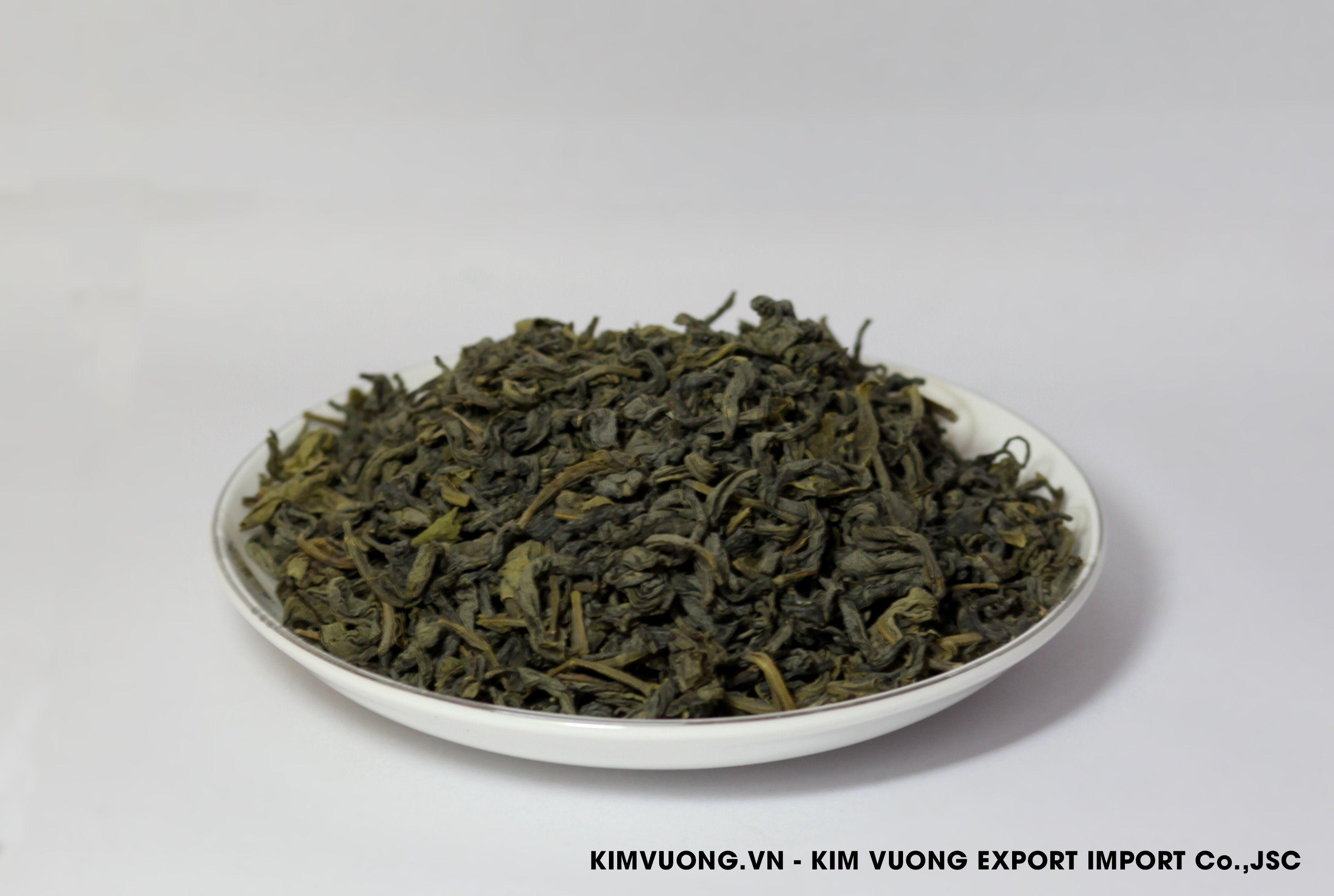Green tea OP 595 exports  - KIM VUONG EXPORT IMPORT Co.,JSC