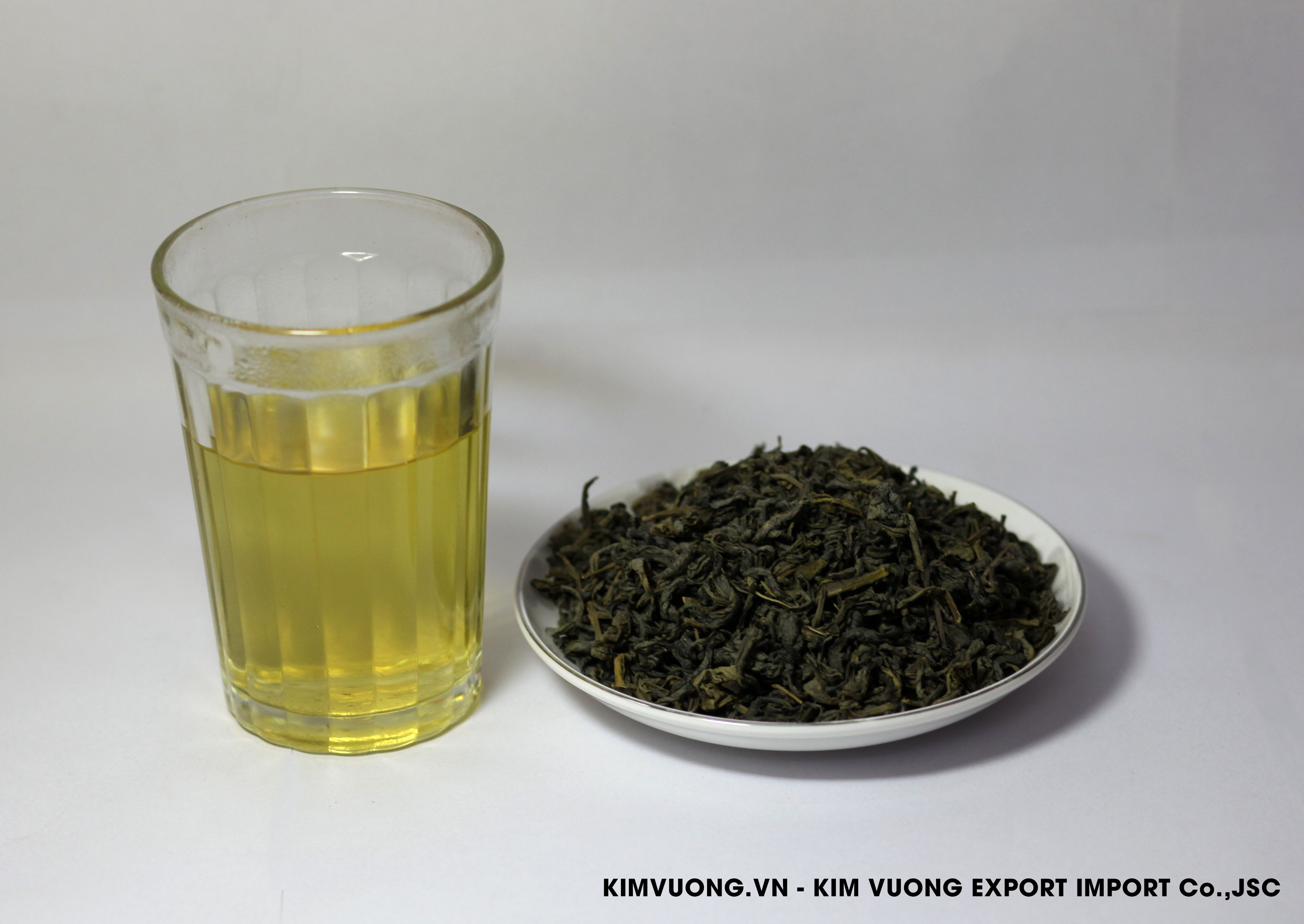 Green tea OP 595  - KIM VUONG EXPORT IMPORT Co.,JSC
