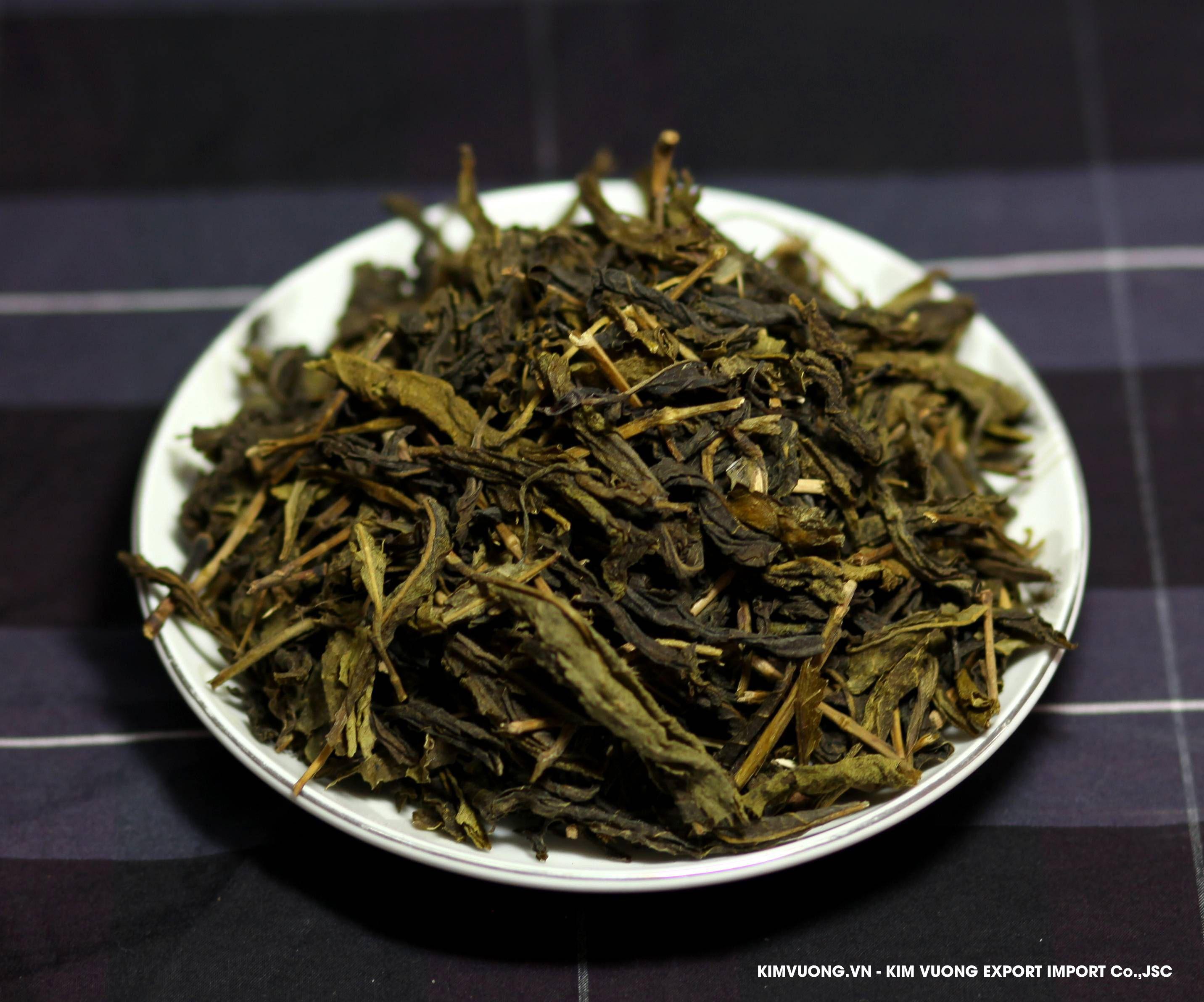 Green tea OPX exports  - KIM VUONG EXPORT IMPORT Co.,JSC
