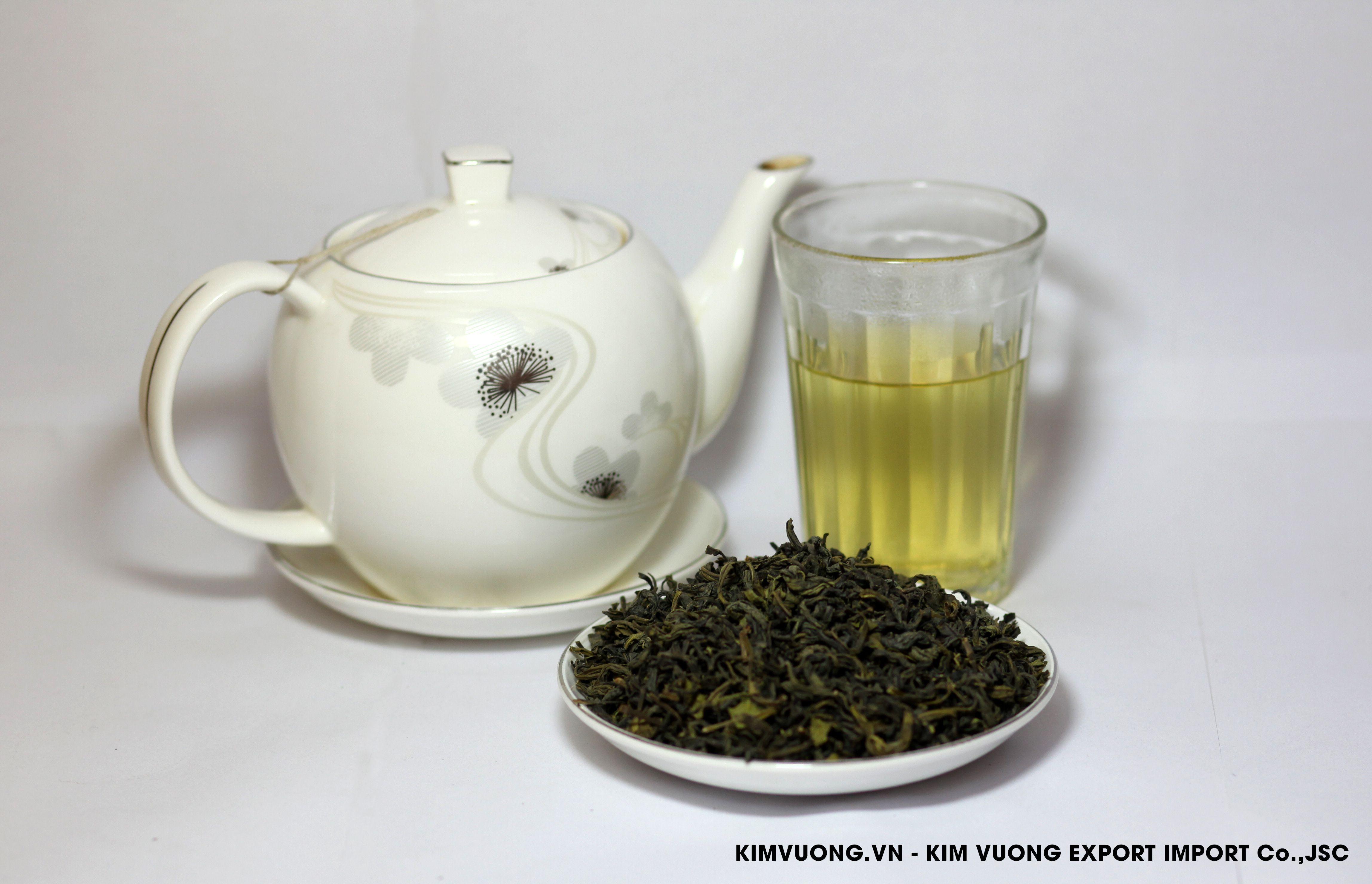 Green tea OP 488  - KIM VUONG EXPORT IMPORT Co.,JSC