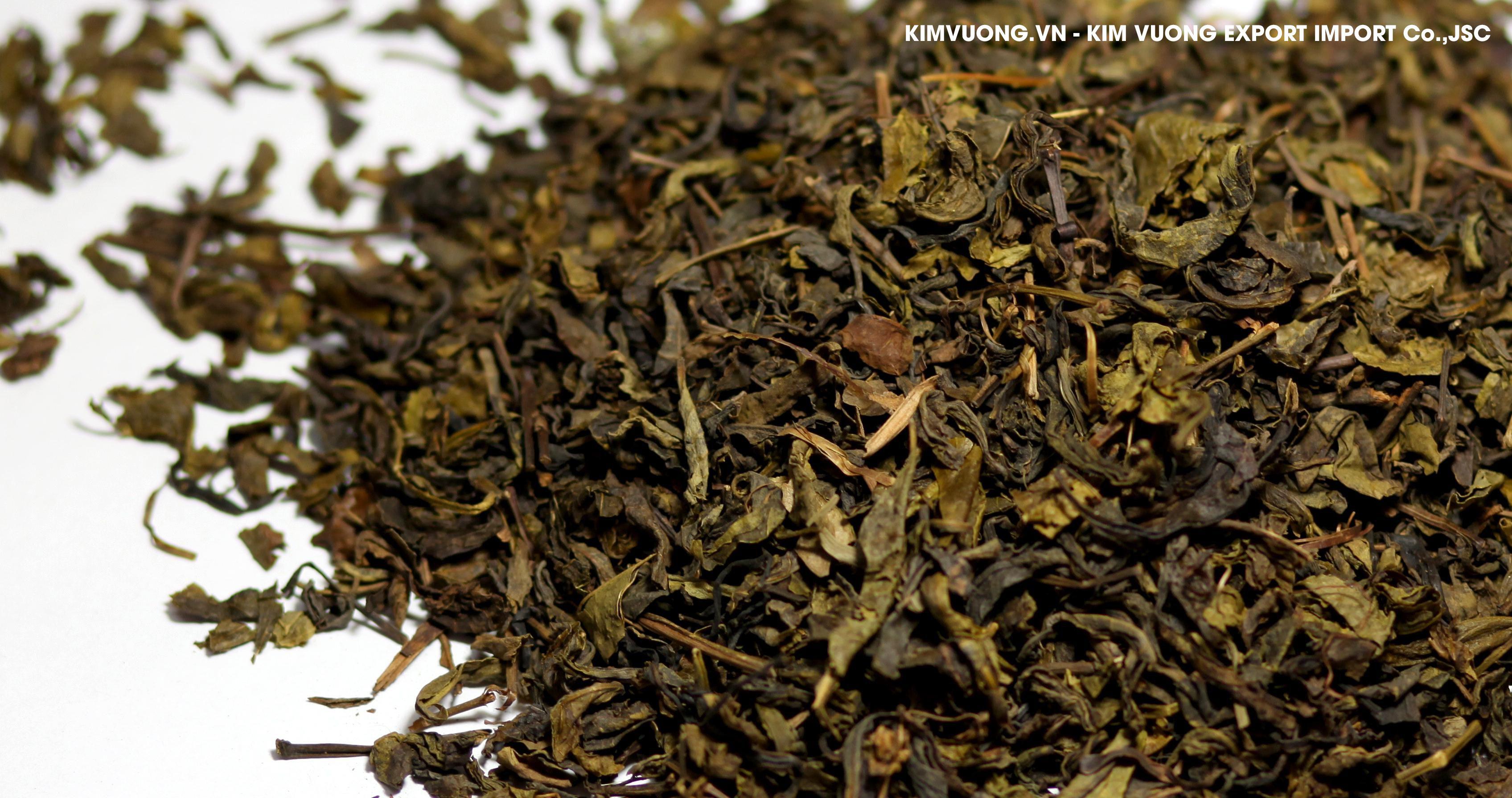 Broken green tea S1  - KIM VUONG EXPORT IMPORT Co.,JSC