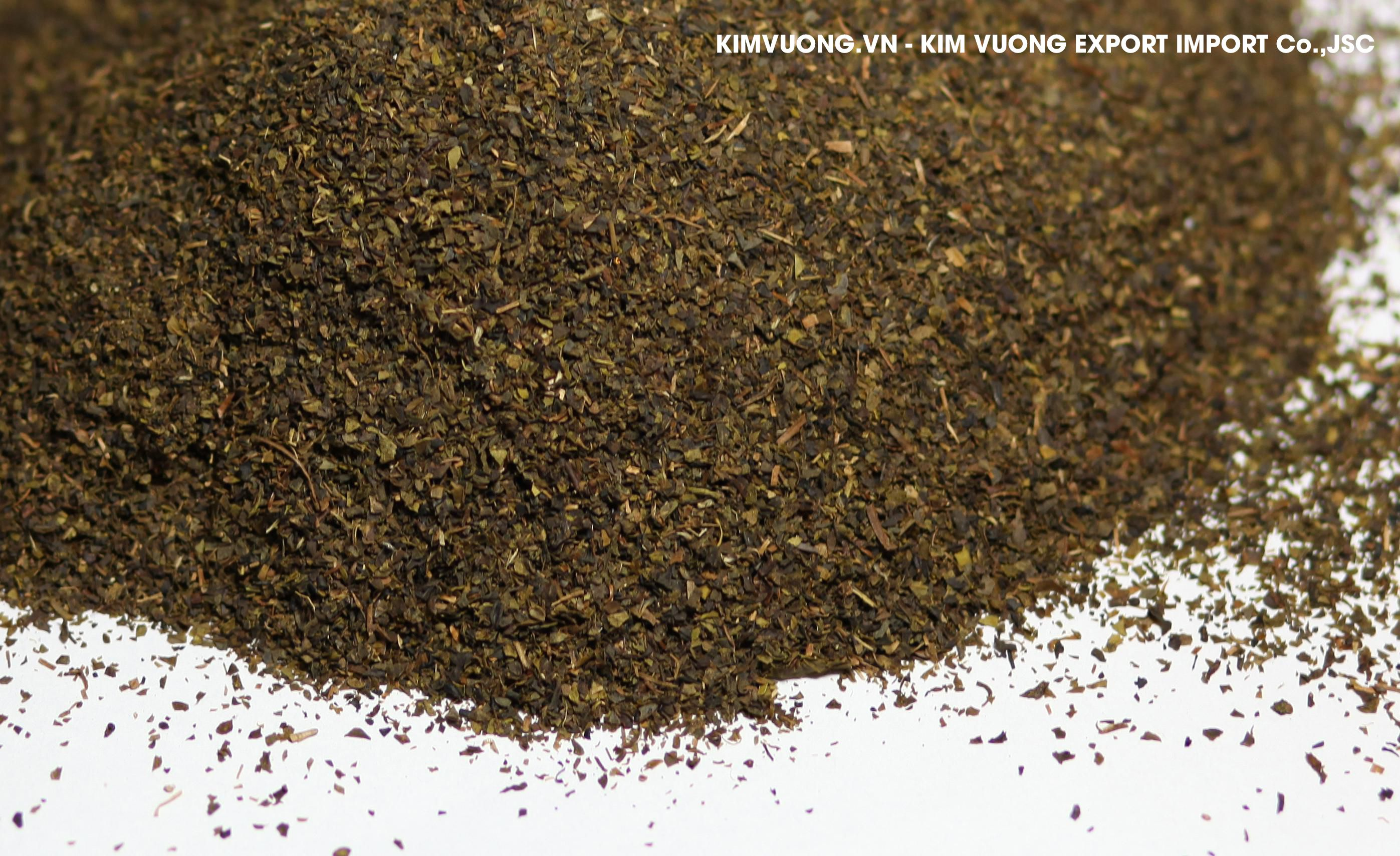 Broken green tea S4  - KIM VUONG EXPORT IMPORT Co.,JSC